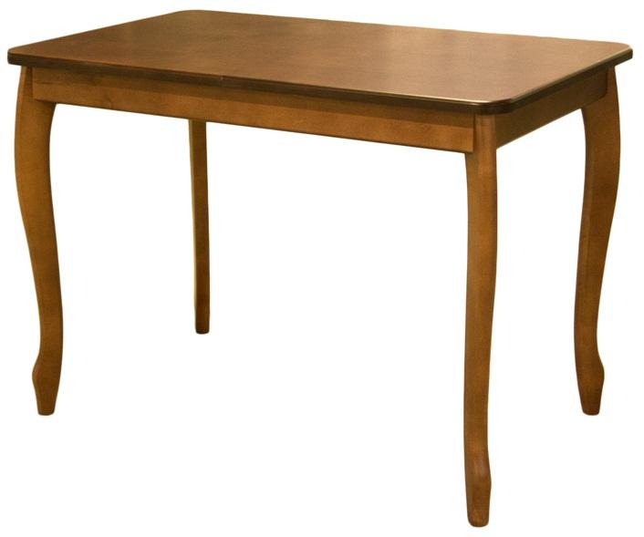 Обеденный стол из дерева, цвет орех, раскладной (арт. М4102)